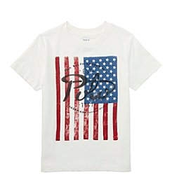 Polo Ralph Lauren® Boys' 2T-7 Short Sleeve Logo Flag Tee
