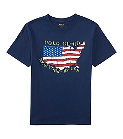 Polo Ralph Lauren® Boys' 2T-7 Short Sleeve America Tee