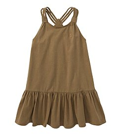 Ralph Lauren Childrenswear Girls' 7-16 Braided Tank Dress