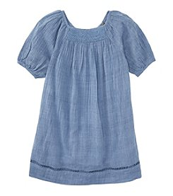 Ralph Lauren Childrenswear Girls' 7-16 Smocked Gauze Dress