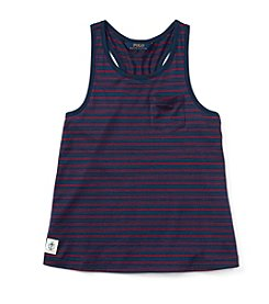 Polo Ralph Lauren® Girls' 7-16 Striped Tank