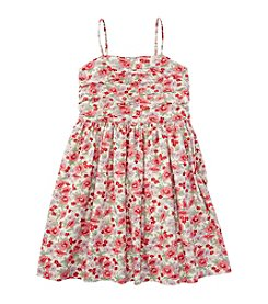 Ralph Lauren Childrenswear Girls' 7-16 Floral Sundress