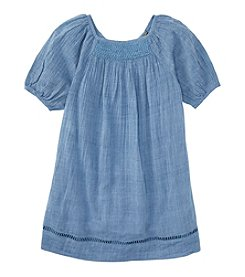 Ralph Lauren Childrenswear Girls' 2T-6X Smocked Gauze Dress