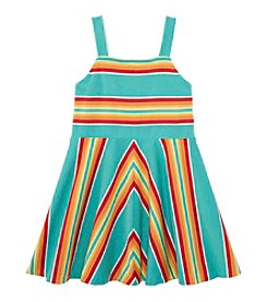 Ralph Lauren Childrenswear Girls' 2T-6X Striped Dress