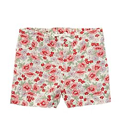 Ralph Lauren Childrenswear Girls' 2T-6X Floral Shorts