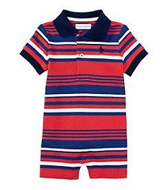 Ralph Lauren Childrenswear Baby Boys' Striped One-Piece Shortall
