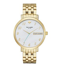 kate spade new york® Women's Goldtone Monterey Watch