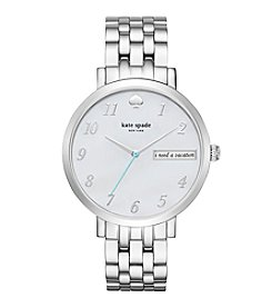 kate spade new york® Women's Silvertone Monterey Watch