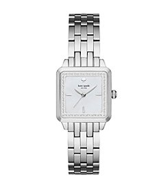 kate spade new york® Women's Silvertone Washington Square Watch