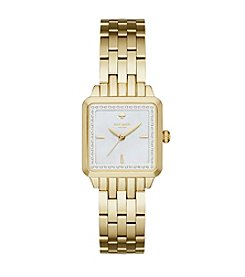 kate spade new york® Women's Goldtone Washington Square Watch