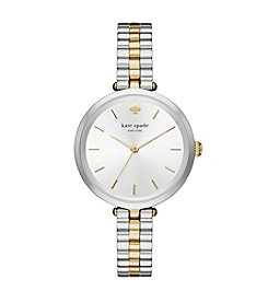 kate spade new york® Women's Two Tone Holland Watch
