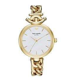 kate spade new york® Women's Goldtone Holland Watch