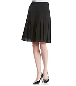 Kasper® Stretch Crepe Skirt