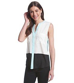 Ivanka Trump® Colorblock Blouse