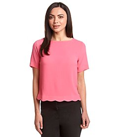 Bobeau® Wave Hem Top
