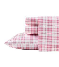 Poppy & Fritz Pink Plaid Sheet Set