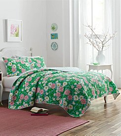 Poppy & Fritz Poppy Garden 3-pc. Quilt Set