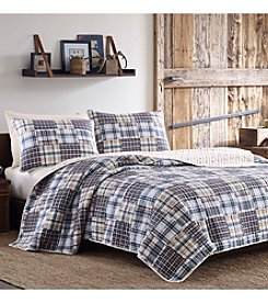 Poppy & Fritz Sandpoint Plaid 3-pc. Quilt Set