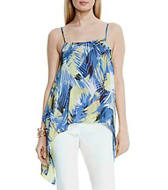 Vince Camuto® Tropical Movement Drape Tank
