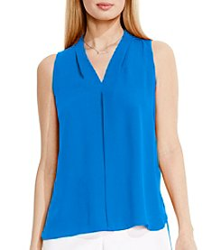 Vince Camuto® Inverted Front Pleat Blouse