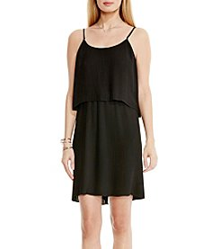 Vince Camuto® Pleated Popover Tank Dress