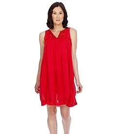 Lucky Brand® Embroidered Yoke Dress