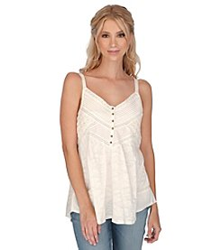 Lucky Brand® V-Neck Shirttail Cami