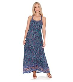 Lucky Brand® Floral Printed Maxi Dress