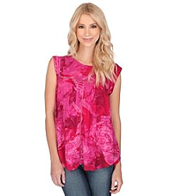 Lucky Brand® Floral Print Shell Top