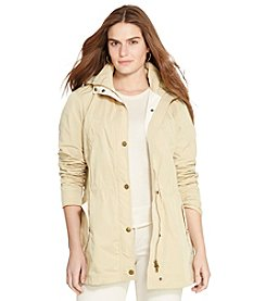 Lauren Ralph Lauren® Plus Size Detachable-Hood Taffeta Coat