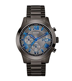 GUESS Men's Gunmetal Modern Chronograph Watch