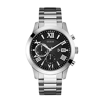 GUESS Men's Modern Classic Chronograph Watch