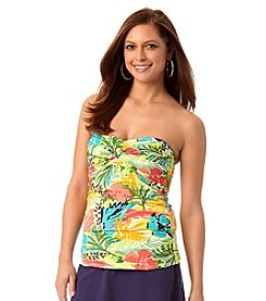 Anne Cole® Island Time Twist Front Tankini Top