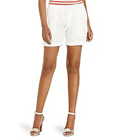 Lauren Ralph Lauren® Drawcord Patch-Pocket Shorts