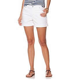 Chaps® Stretch-Denim Shorts