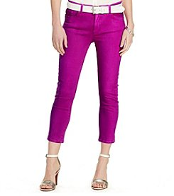 Lauren Jeans Co.® Premier Cropped Skinny Jeans