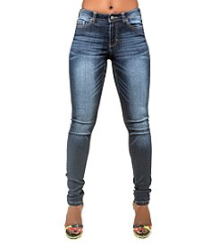 Poetic Justice® Madison Rayon Rich Skinny Jean