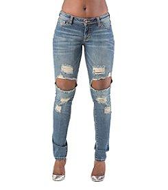Poetic Justice® Maya Destroy Skinny Jean