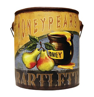 Farm Fresh 20-oz. Honey Pears Candle in Ceramic Jar