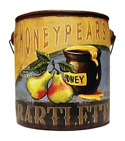 A Cheerful Giver Honey Pear Paint Can Candle