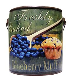 A Cheerful Giver Blueberry Paint Can Candle