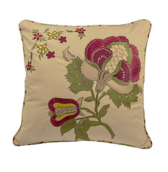 Waverly® Imperial Dress Embroidered Decorative Pillow
