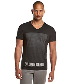 Calvin Klein Men's Short Sleeve Solid Gradient Tee