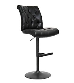 Whalen Furniture Chancellor Gas-Lift Bar Stool