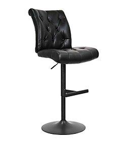 Whalen Furniture Chancellor Gas-Lift Bar Stool