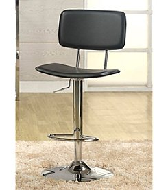 Whalen Furniture Lakeside Gas-Lift Bar Stool