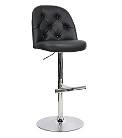 Whalen Furniture Archer Gas-Lift Bar Stool