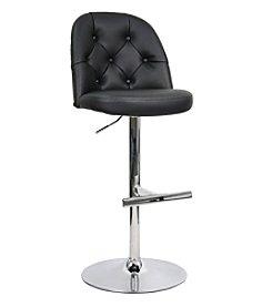 Whalen Furniture Archer Gas-Lift Bar Stool