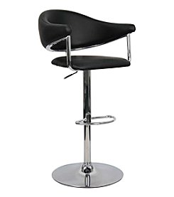 Whalen Furniture Airstream Gas-Lift Bar Stool