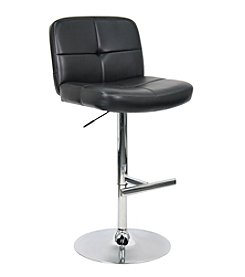 Whalen Furniture Harris Gas-Lift Bar Stool